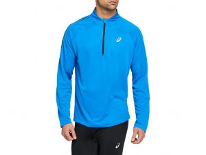 חולצת אימון אסיקס לגברים Asics ICON ZIP - כחול