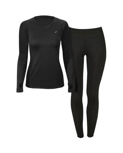 מכנס ספורט אווטדור לנשים Outdoor Thermodry - שחור