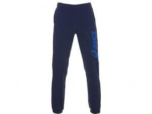 מכנסיים ארוכים אסיקס לגברים Asics Big Logo - כחול