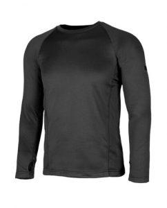 חולצת אימון אווטדור לגברים Outdoor X WARM - שחור