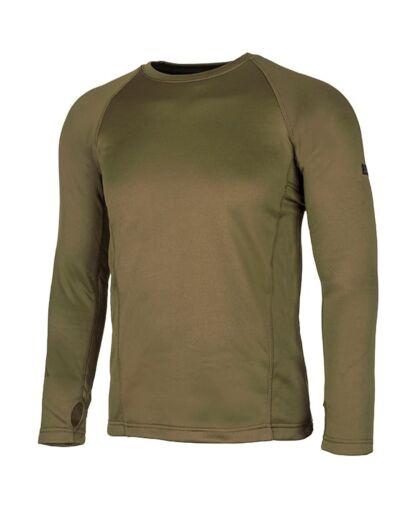 חולצת אימון אווטדור לגברים Outdoor X WARM - ירוק זית