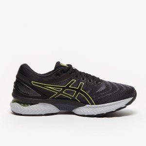 נעלי ריצה אסיקס לגברים Asics GEL-Nimbus 22 - שחור/צהוב