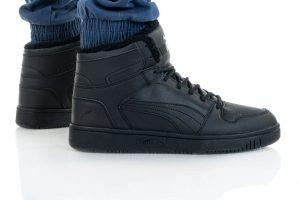 נעלי סניקרס פומה לגברים PUMA REBOUND LAYUP - שחור