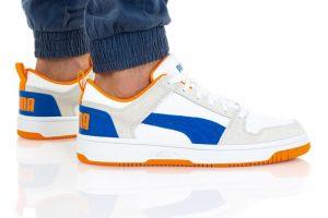 נעלי סניקרס פומה לגברים PUMA REBOUND LAYUP - צבעוני בהיר