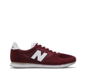 נעלי סניקרס ניו באלאנס לגברים New Balance U220 - אדום יין