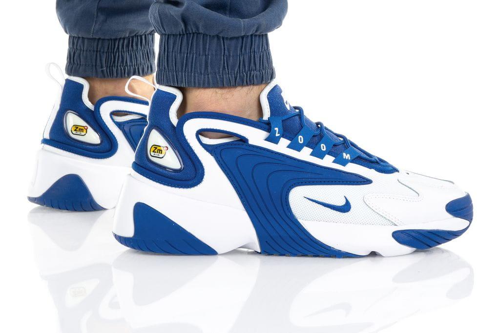 נעלי סניקרס נייק לגברים Nike Zoom 2K - כחול