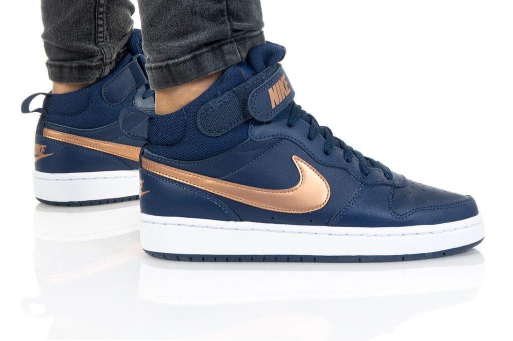 נעלי סניקרס נייק לנשים Nike COURT BOROUGH MID 2 - כחול