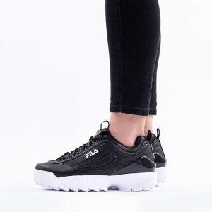 נעלי סניקרס פילה לנשים Fila Disruptor Premium - שחור