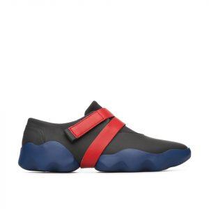 נעלי סניקרס קמפר לנשים Camper Dub - שחור/אדום