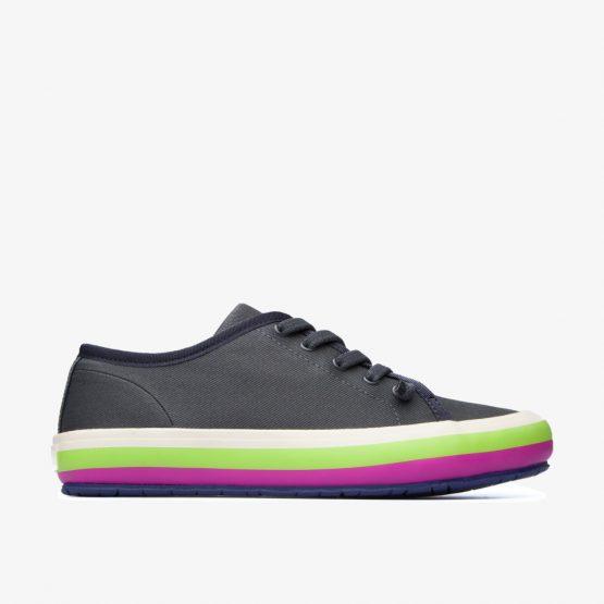 נעלי סניקרס קמפר לנשים Camper Portol Gris - צבעוני