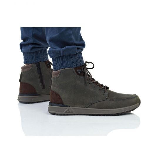 נעלי סניקרס ריף לגברים Reef ROVER HI - אפור כהה