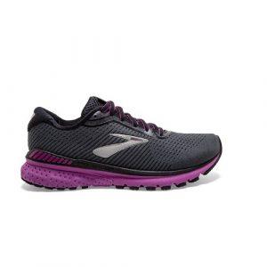 נעלי ריצה ברוקס לנשים Brooks Adrenaline GTS 20 - שחור/סגול