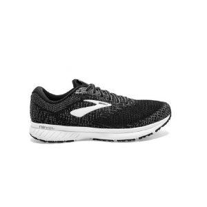 נעלי ריצה ברוקס לנשים Brooks 3 Revel - שחור/לבן