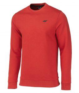 ג'קט ומעיל פור אף לגברים 4F warm - אדום