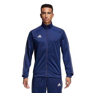 ג'קט ומעיל אדידס לגברים Adidas CORE 18 PES - כחול כהה