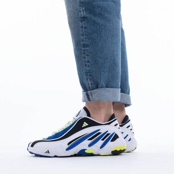 נעלי סניקרס אדידס לגברים Adidas Fyw 98 - לבן/כחול