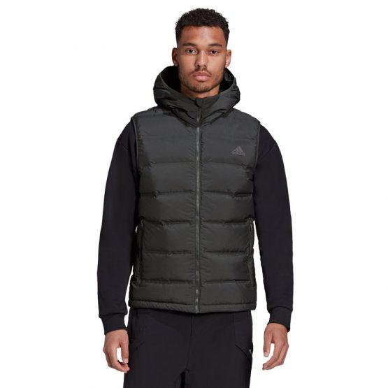 ג'קט ומעיל אדידס לגברים Adidas Helionic Vest - שחור