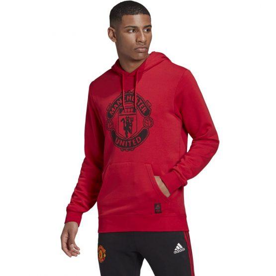 אדידס לגברים Adidas Manchester United DNA - אדום
