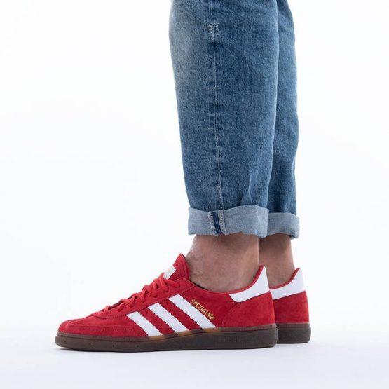 נעלי סניקרס אדידס לגברים Adidas Originals Handball Spezial - אדום