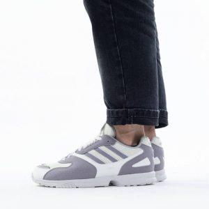 נעלי סניקרס אדידס לגברים Adidas Originals  Zx 4000 - אפור/סגול