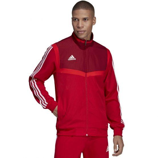 ג'קט ומעיל אדידס לגברים Adidas TIRO 19 PRE - אדום