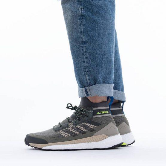 נעלי טיולים אדידס לגברים Adidas Terrex Free Hiker - ירוק