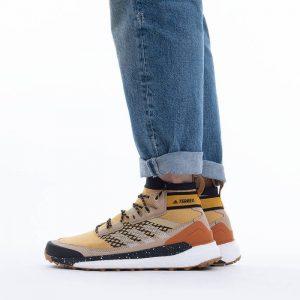 נעלי טיולים אדידס לגברים Adidas Terrex Free Hiker - צהוב