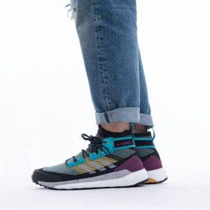 נעלי טיולים אדידס לגברים Adidas Terrex Free Hiker - צבעוני כהה