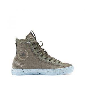 נעלי סניקרס קונברס לגברים Converse Chuck Louie Lopez Pro Ox - אפור/ירוק