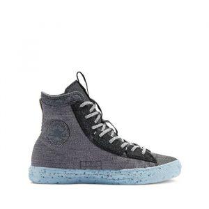 נעלי סניקרס קונברס לגברים Converse Chuck Louie Lopez Pro Ox - אפור