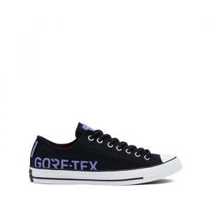 נעלי סניקרס קונברס לגברים Converse Chuck Louie Lopez Pro Ox - שחור הדפס