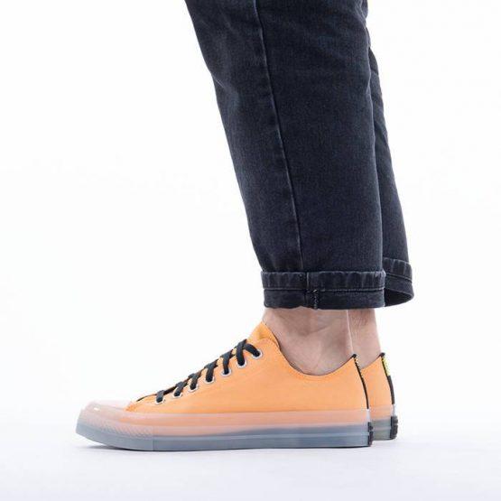 נעלי סניקרס קונברס לגברים Converse Chuck Taylor All Star CX Low Top - כתום