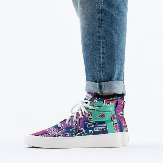 נעלי סניקרס קונברס לגברים Converse x Fear Of God Skid Grip Hi - צבעוני