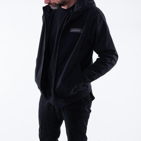 ג'קט ומעיל נפפירי לגברים Napapijri A-Patch Light - שחור