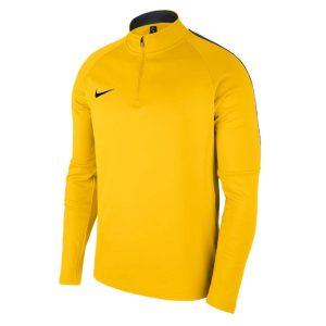חולצת אימון נייק לגברים Nike Dry Academy 18 Dril Tops - צהוב