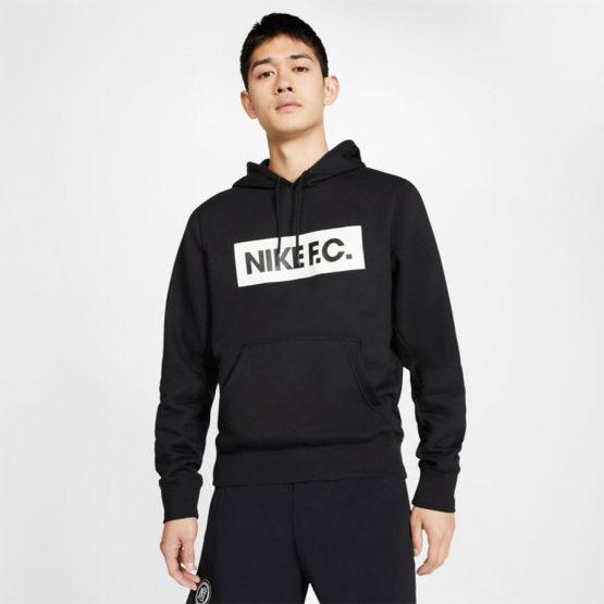 סווטשירט נייק לגברים Nike FC - שחור