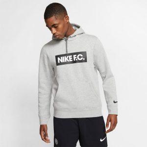 סווטשירט נייק לגברים Nike FC - אפור בהיר