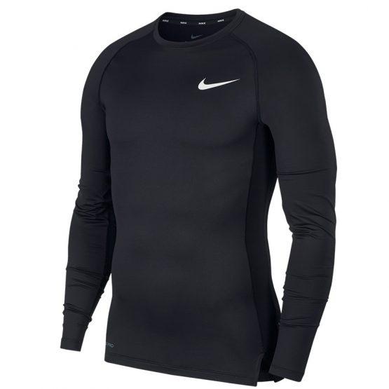 חולצת אימון נייק לגברים Nike Pro Top LS - שחור