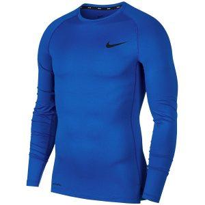 חולצת אימון נייק לגברים Nike Pro Top LS - כחול