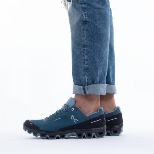 נעלי ריצה און לגברים On Cloudventure Wateproof - כחול