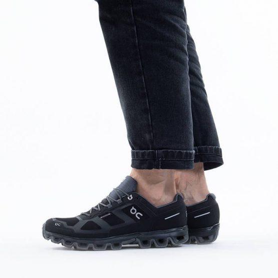 נעלי ריצה און לגברים On Cloudventure Wateproof - שחור