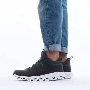 נעלי ריצה און לגברים On Running Cloud Hi Waterproof - ירוק