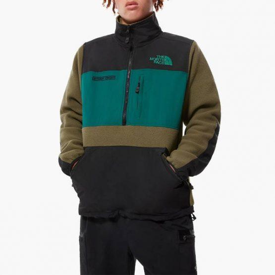 סווטשירט דה נורת פיס לגברים The North Face Steep Tech Half 1/2 Zip Fleece - ירוק
