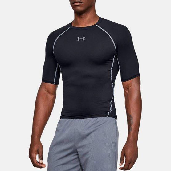 חולצת אימון אנדר ארמור לגברים Under Armour HeatGear - שחור