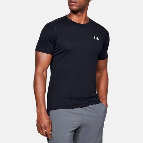 חולצת אימון אנדר ארמור לגברים Under Armour Streaker 2.0 - שחור