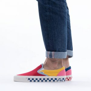 נעלי סניקרס ואנס לגברים Vans Classic Slip-On 9 Anaheim Factory - צבעוני