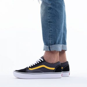 נעלי סניקרס ואנס לגברים Vans Ua ComfyCush Old Skol - שחור