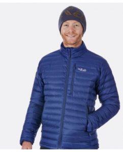 ג'קט ומעיל ראב לגברים Rab Microlight - כחול