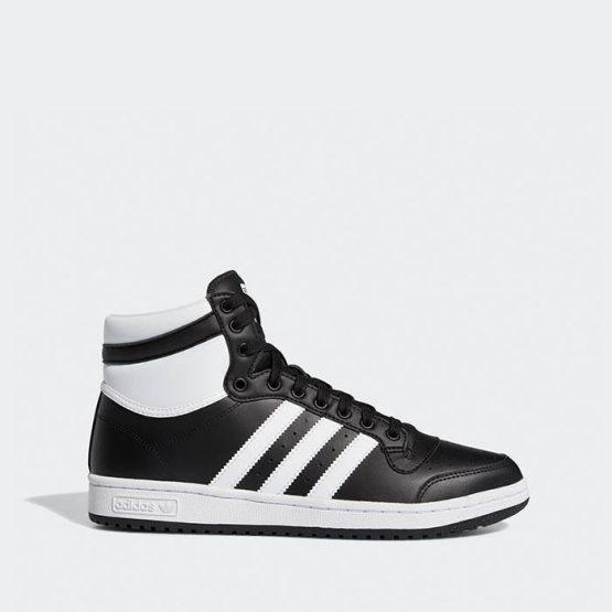 נעלי סניקרס אדידס לגברים Adidas Originals Top Ten - שחור
