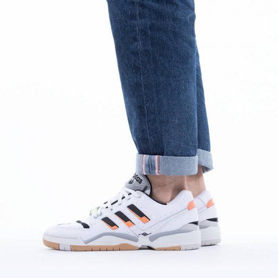נעלי סניקרס אדידס לגברים Adidas Originals Torsion Comp - לבן